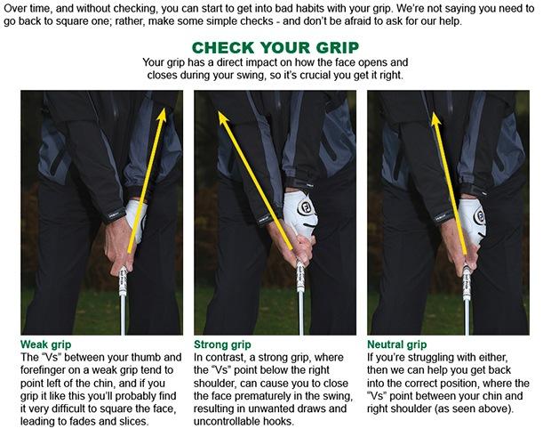 Grip advice