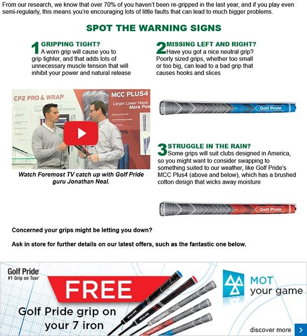 Golf grip