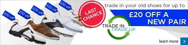 FootJoy shoe trade in