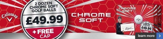 Callaway Chrome Soft double dozen + free cap